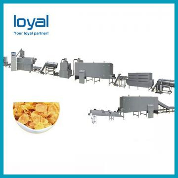 Full Automatic New Condition Rice Puff Core Filled Filling Stick Snack Food Cheese Ball Breakfast Cereal Corn Flake Snack Ball Making Machine
