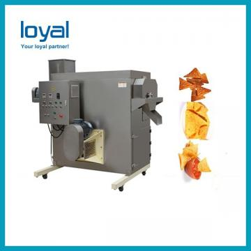 Free Spares Automatic Stainless Steel Twin Screw Extruder Breakfast Cereal Corn Flakes Making Machine Price