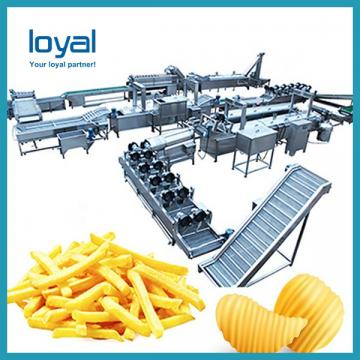 Complete sets of equipment French fries production line potato chips Fried processing line