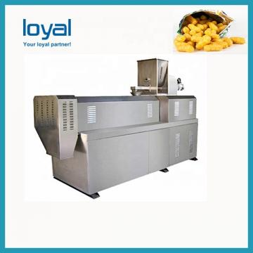 Automatic Rice Extruded Chips Salad Bugles Doritos Corn Chips Fried Wheat Flour Snack Food Extruder Machine