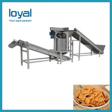 Frying Pellet Snack Food Making Machine , Rice Chips Making Machine