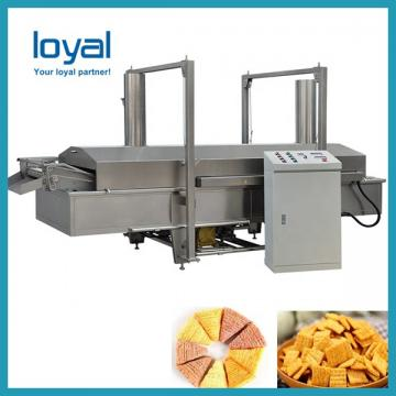 Snack Food Twin Screw Extruder Rice Chips Machine
