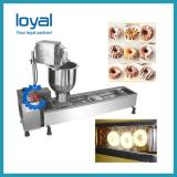 Free shipping high quality factory price automatic snack donut making machine mini doughnut fryer with CE
