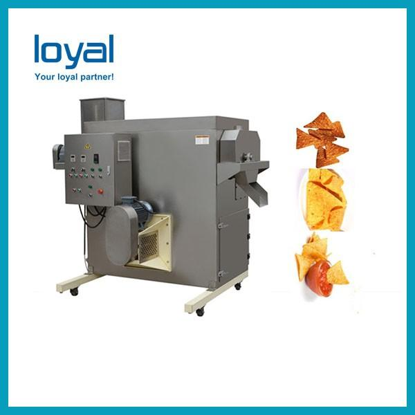 Automatic Corn Flakes Making Machine , Gas / Diesel / Electric Extruded Snacks Machinery #2 image