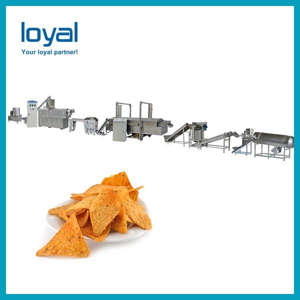 Automatic Corn Flakes Making Machine , Gas / Diesel / Electric Extruded Snacks Machinery #1 image