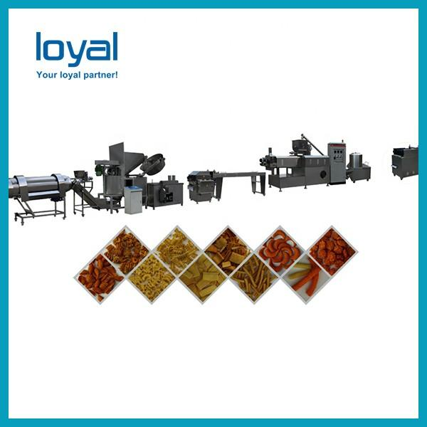 High Automatic Corn Flake Making Machine , Breakfast Cereal Processing Line #2 image