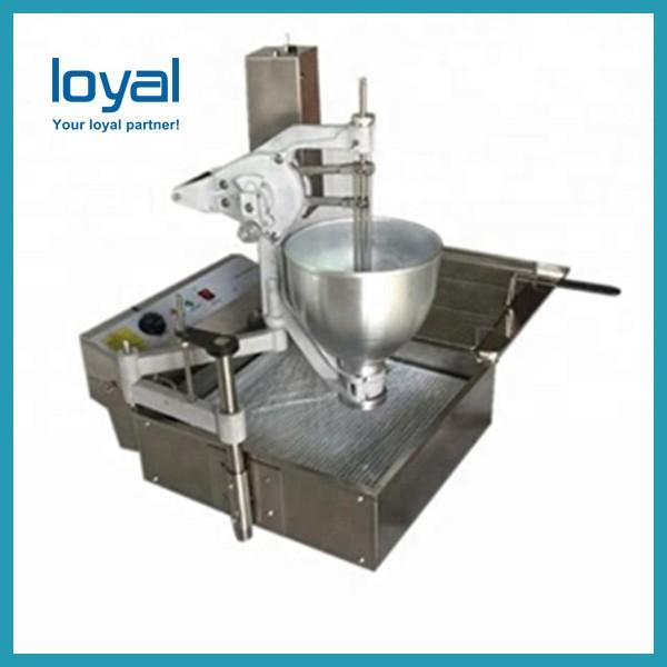 Stainless Steel Automatic Donut Making Machine 40w 300-1200 Kg/h Capacity #1 image