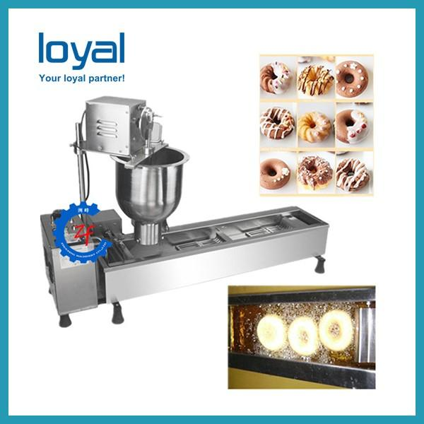 Free shipping high quality factory price automatic snack donut making machine mini doughnut fryer with CE #1 image