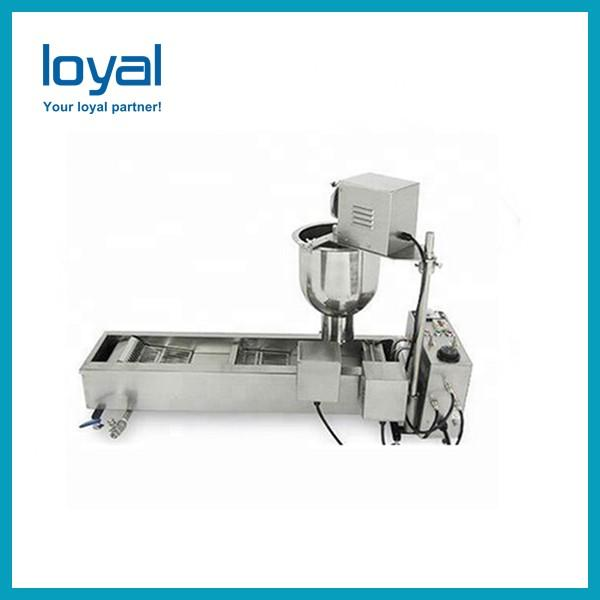 Free shipping high quality factory price automatic snack donut making machine mini doughnut fryer with CE #3 image