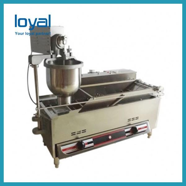 Stainless Steel Automatic Donut Making Machine 40w 300-1200 Kg/h Capacity #2 image