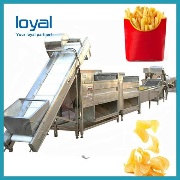 High Quality Fried Pellet Snack Food Chips Equipment Plant Machine Processing Line #1 image