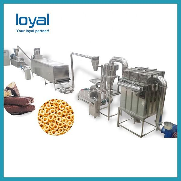 82KW Artificial Rice Production Line , Baby Nutritional Rice Powder Making Extruder Machinery #3 image
