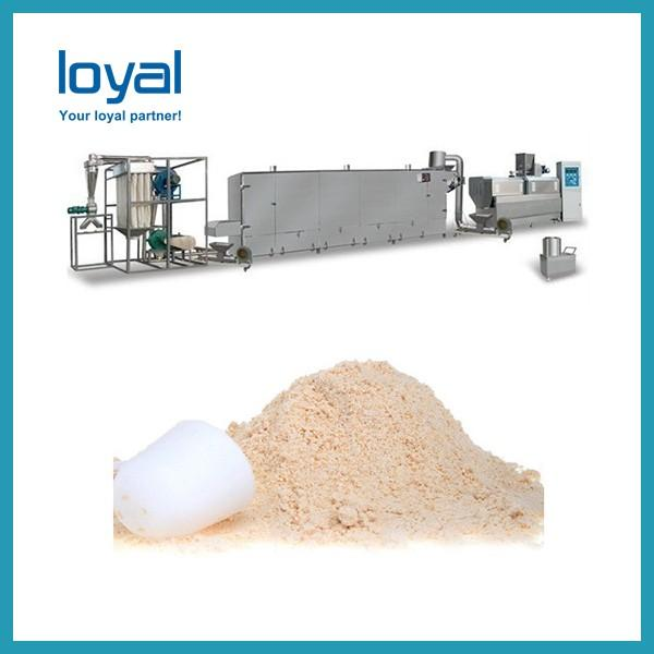 Nutritional Rice Extruder Making Machine , Artificial Rice Prodcution Line Thermal Processing #1 image