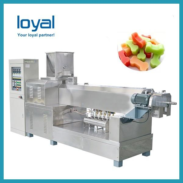 Engineers available to service machinery overseas Automatic Pet Treats Food Machine #1 image