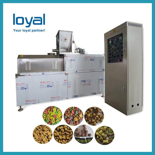 Engineers available to service machinery overseas Automatic Pet Treats Food Machine #3 image