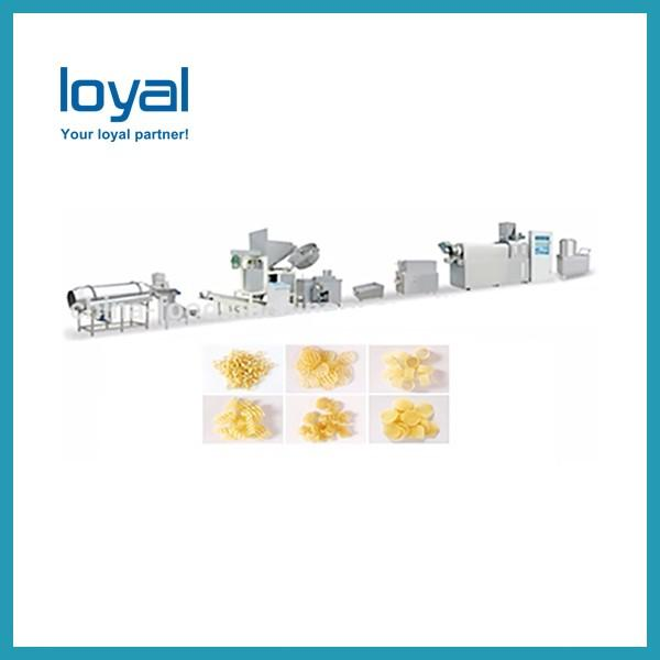CE high quality Fried corn flour bugles snacks chips food making extruder machine plant equipment #2 image