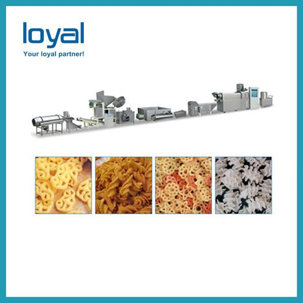 CE high quality Fried corn flour bugles snacks chips food making extruder machine plant equipment #1 image